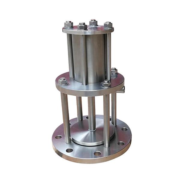 重庆H742X活塞式液动池底排泥阀-重庆不锈钢排泥阀供应