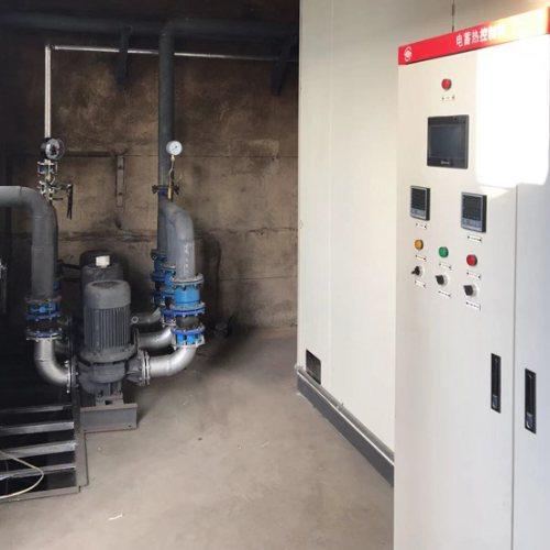 新能乐业固体电蓄热装置施工