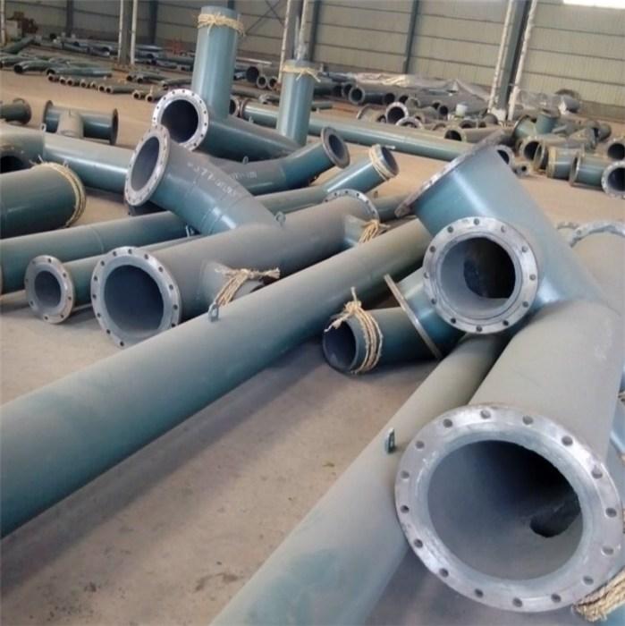 亨通 内衬复合陶瓷钢管批发 大口径复合陶瓷钢管供应