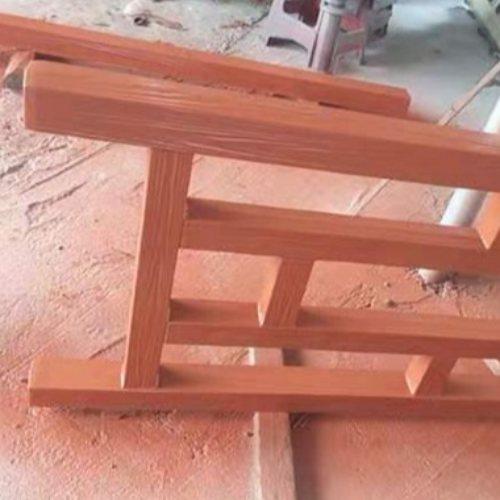 恒屹建材 茂名仿木栏杆供应 园林仿木栏杆供应商