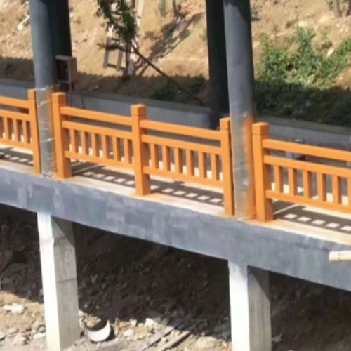 东莞仿木护栏供应商 恒屹建材 清远仿木护栏报价