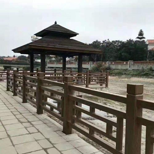 广州仿木护栏供应商 恒屹建材 茂名仿木护栏采购