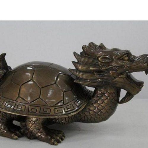铜龙头龟定做 大型铜龙头龟 艺都 广场铜龙头龟