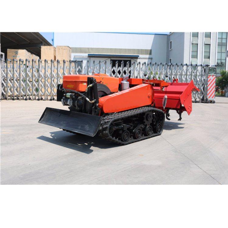 众达 自走式履带旋耕机 新型履带旋耕机供应