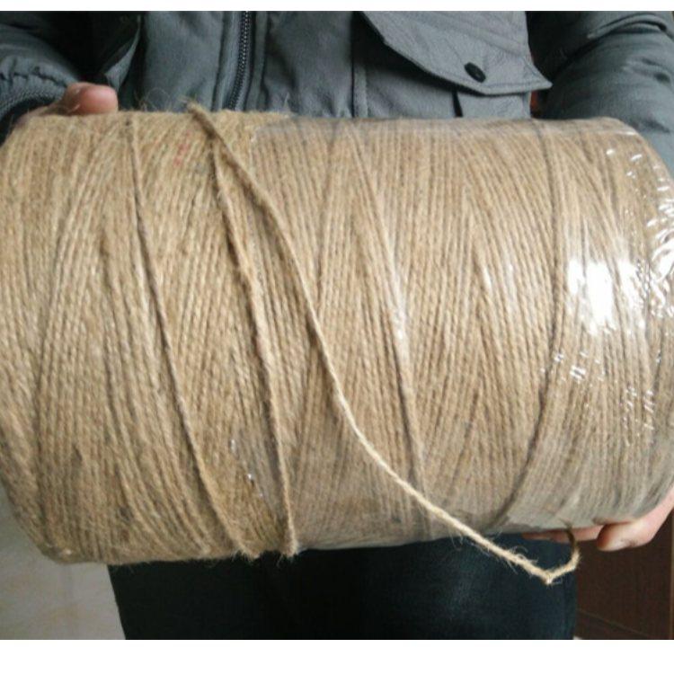 打捆黄麻绳厂家 华佳 黄麻绳 吊牌黄麻绳价格