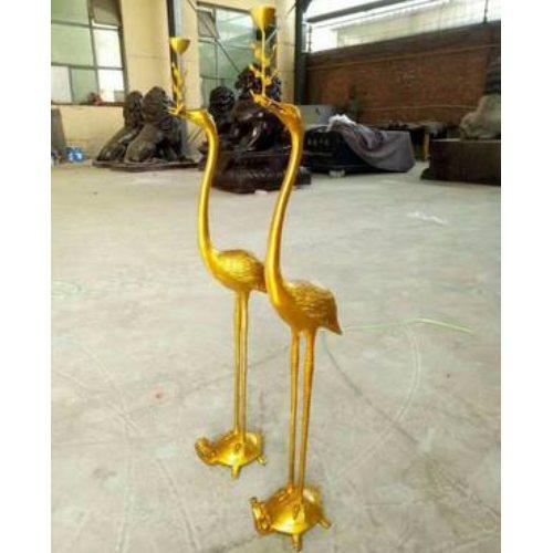 铜鹤登龟 大型铜鹤登龟 大型铜鹤登龟专业铸造 进忠雕塑