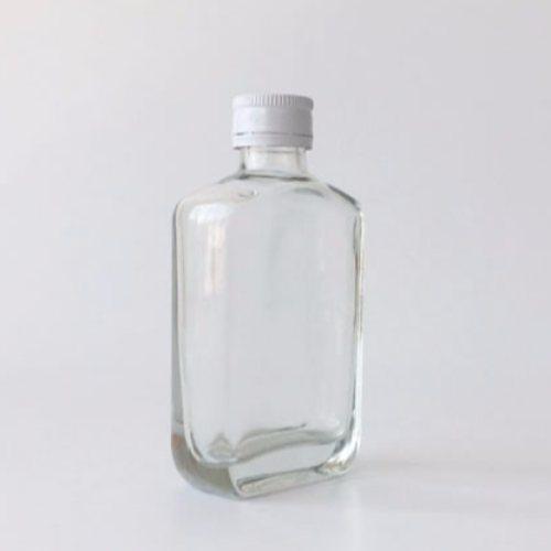 晶白料小酒瓶 100ml小酒瓶 125ML小白瓶 现货瓶 小方瓶工厂直销