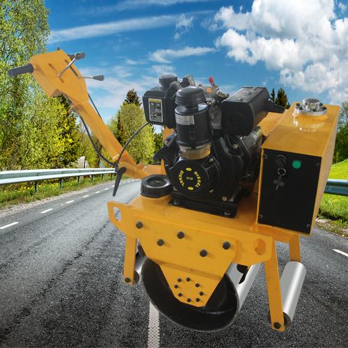 通华 通华机械振动式压路机 单钢轮振动式压路机品牌机械