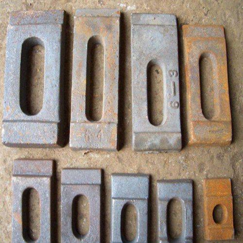 绝缘轨道压板源头直销 滏金金属制品 qu100轨道压板长期供应