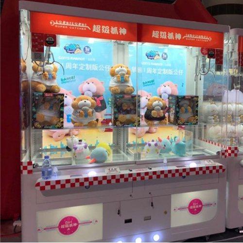 谷微动漫科技 IP全透明娃娃机一体化的沉浸式娱乐消费体验