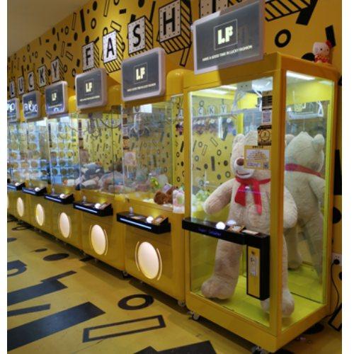 抓娃娃技巧奈雪-茶全球物联网及大数据技术娃娃机