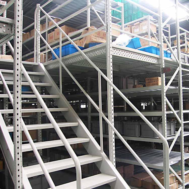 瑞远 专业阁楼式仓储货架定制 重型阁楼式仓储货架订做