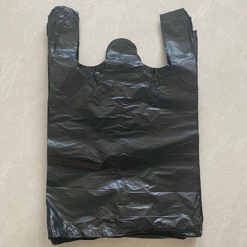 环保家用黑色垃圾袋批发商 世起塑料 酒店客房黑色垃圾袋批发