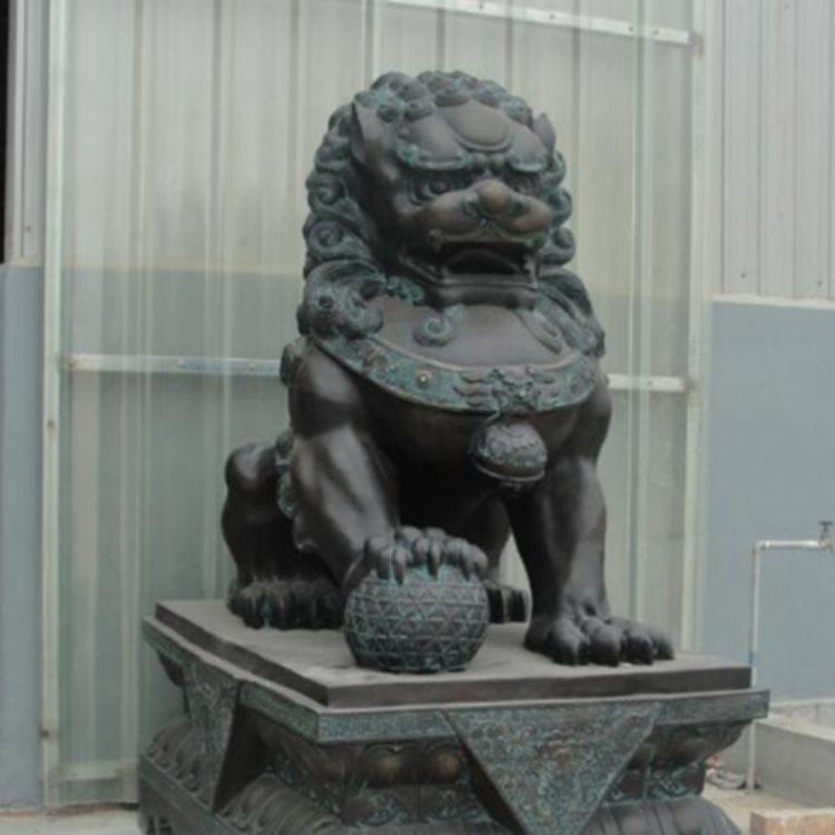 大型铜飞狮 夺艺雕塑 铜飞狮 定做铜飞狮