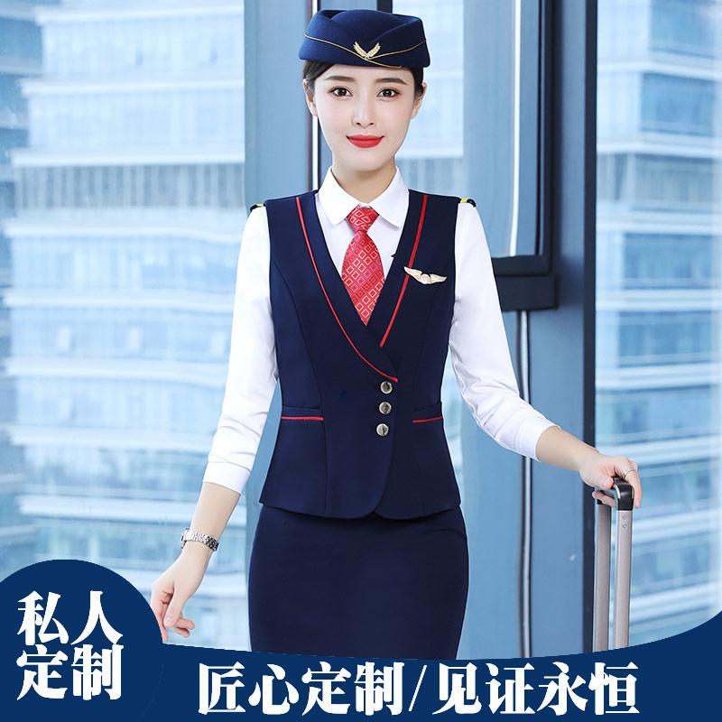 职业装商务酒店工装马甲男士修身西服套装605系列马甲套装长袖