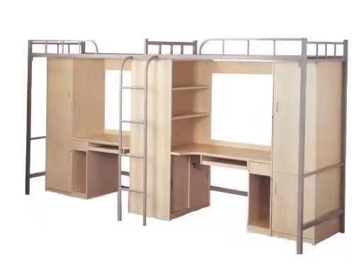 学生公寓床定制厂家 郑州学生公寓床 实木公寓床 品质厂家保证