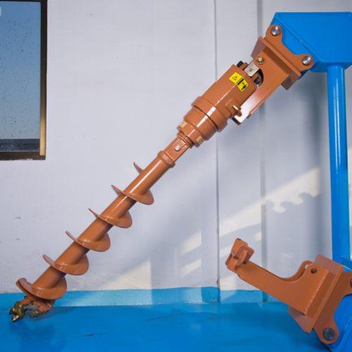 小型挖坑机 恩特重工 长螺杆挖坑机直销 长螺杆挖坑机