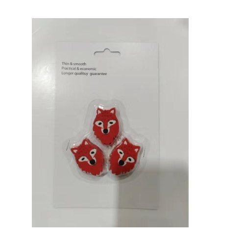 印章橡皮擦定制生产 湖北创彩文化用品 创意橡皮擦报价