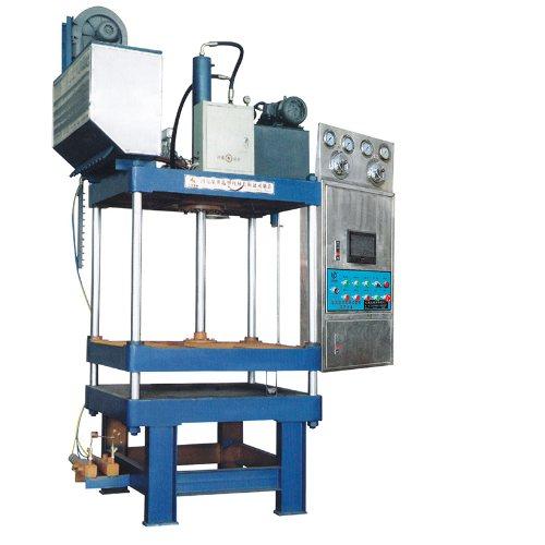 半自动泡沫成型机 液压成型机生产线 汇莱机械