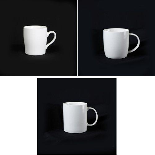 礼品陶瓷水杯 明岳 加印LOGO陶瓷水杯批发 彩色陶瓷水杯供应
