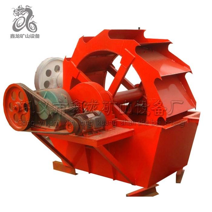 制砂机滚筒式洗砂机原理 巩义市鑫龙矿山设备厂 轮斗式干湿两用洗沙机