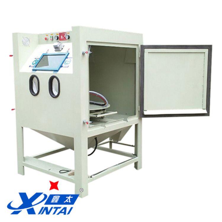 鑫太轉盤手動式噴砂機 溫州腳輪噴砂機非標定制 廠家直銷 質量保障