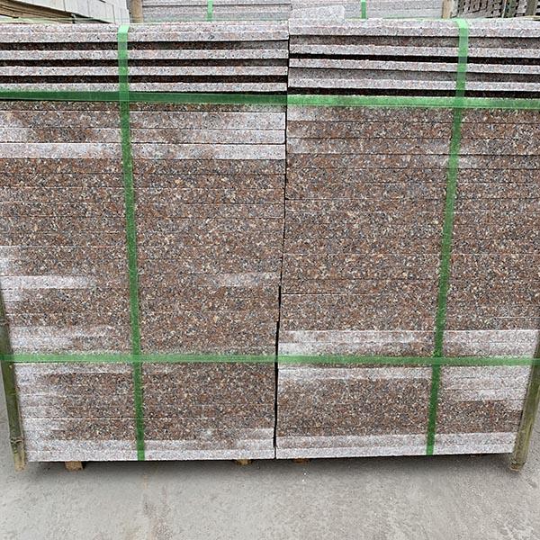 五莲红机切板规格尺寸 3公分五莲红机切板 腾越石材