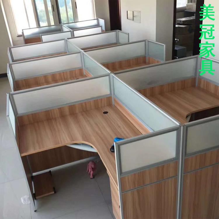 濮阳屏风隔断办公台+员工卡位定做——办公室钢架桌厂家