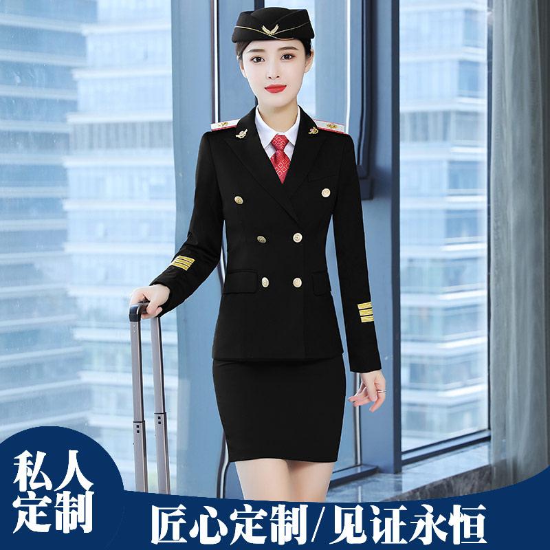 职业套装酒店前台服务员制服订做正装西服801系列男女同款西服套装