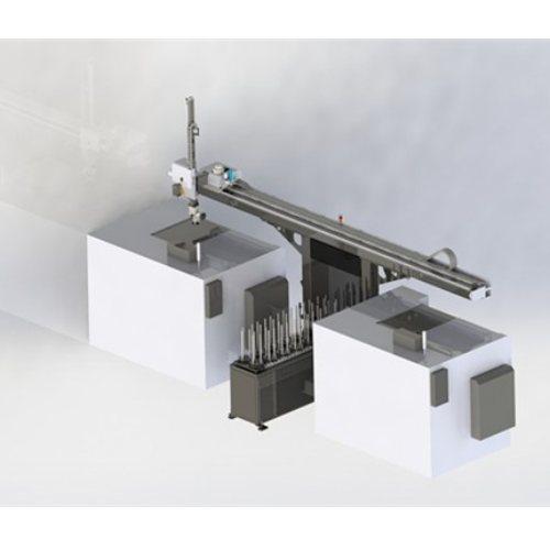机床机械手图片 龙思达 车床机械手程序 数控机械手导轨