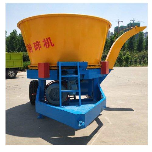 大型稻草粉碎机视频 大型稻草粉碎机厂商 圣强机械