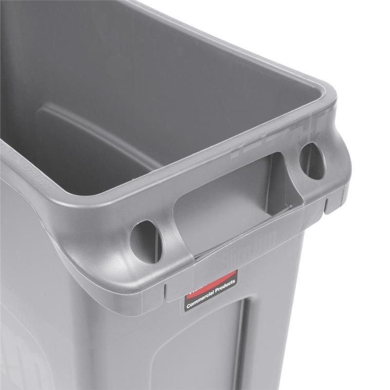 厂家直销乐柏美垃圾桶 有通风口环保分类垃圾桶 环卫回收桶现货批发 欢迎选购 FG354060