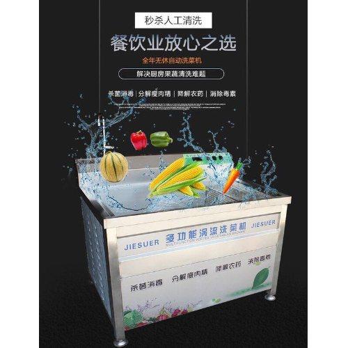 自动洗菜机招商 洁速尔 酒店专用自动洗菜机定做