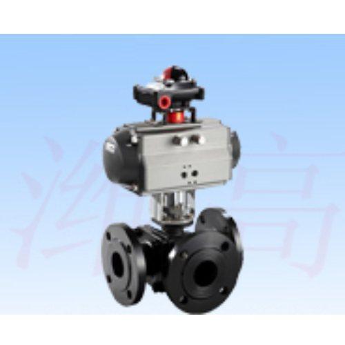 气动V型调节球阀质量 潍高阀门 全新气动V型调节球阀质量