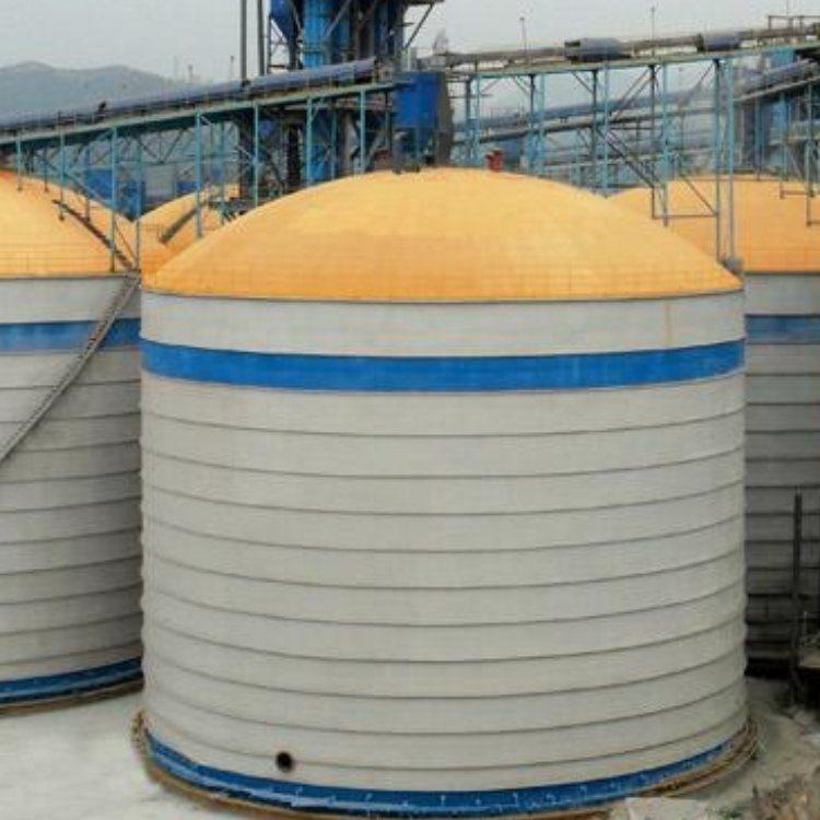 正阳 粉煤灰储存库气化安装 大型粉煤灰储存库设计安装