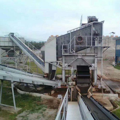 矿石制砂机生产线 球磨制砂机 石灰石制砂机 君诺