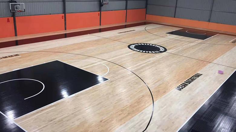 篮球馆运动木地板 性能稳定 安全环保