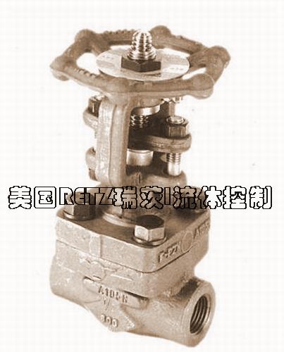 进口高温高压截至阀 法兰 焊接 内螺纹 锻钢截止阀进口厂家 总代理