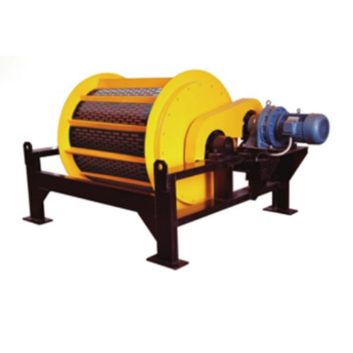 生活垃圾铁矿磁选机批发 恒基磁电 定做铁矿磁选机公司