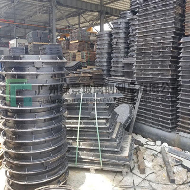 全新球墨铸铁井盖市政基建雨水下水道排水盖 厂家定制供应批发