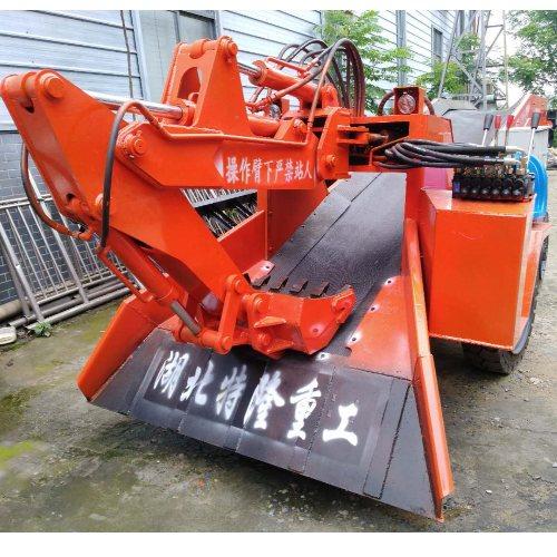 引水洞扒矿机操作 特隆 轮式防爆扒矿机供应