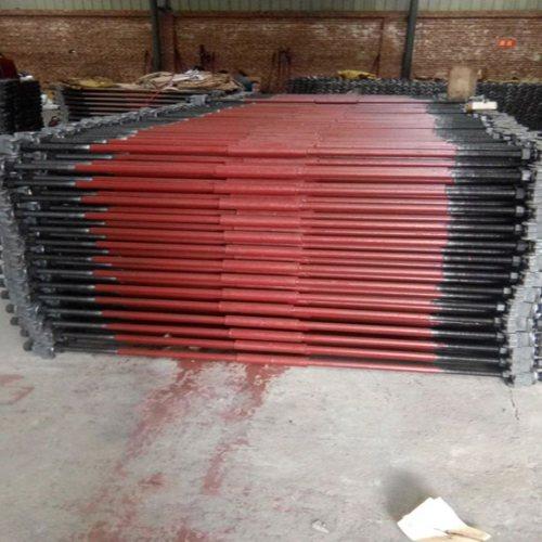 38kg轨道拉杆长期供应 矿车轨道拉杆设计定做 山桥工务器材