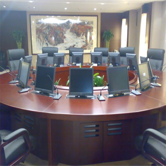 销售电脑自动升降会议桌定制 志欧 电脑自动升降会议桌批发