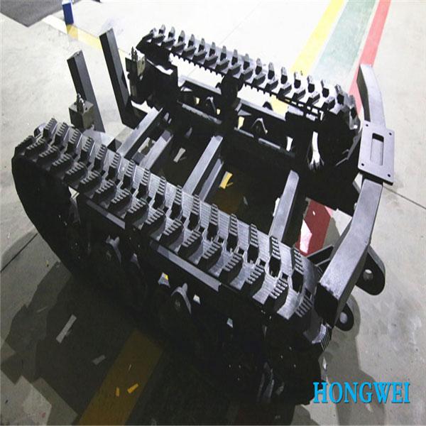 橡胶履带底盘 OP-BJLT-250 无动力特种橡胶履带底盘 定制底盘
