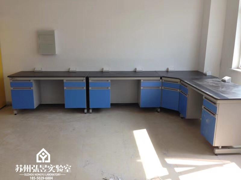 景德鎮食品檢測全鋼木實驗臺通風柜生產廠家 檢測桌 全國均可發貨