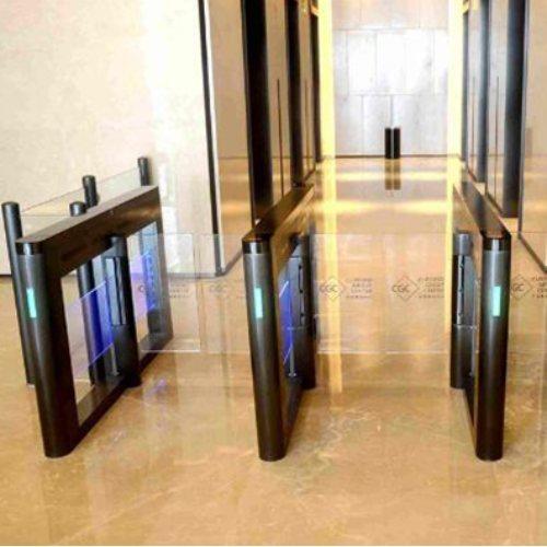 办公楼通道闸机品牌 思诺科技 工地人行通道闸机图片