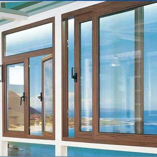 断桥铝合金门窗定制 三朵云门窗 55系列断桥铝合金门窗定做