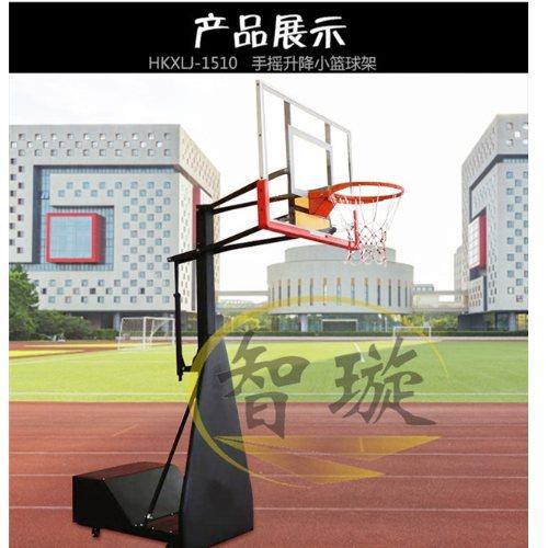 智璇 学校儿童升降篮球架生产销售 儿童升降篮球架