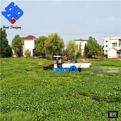 水葫芦打捞船参数 河道水葫芦打捞船商家 海德瀛