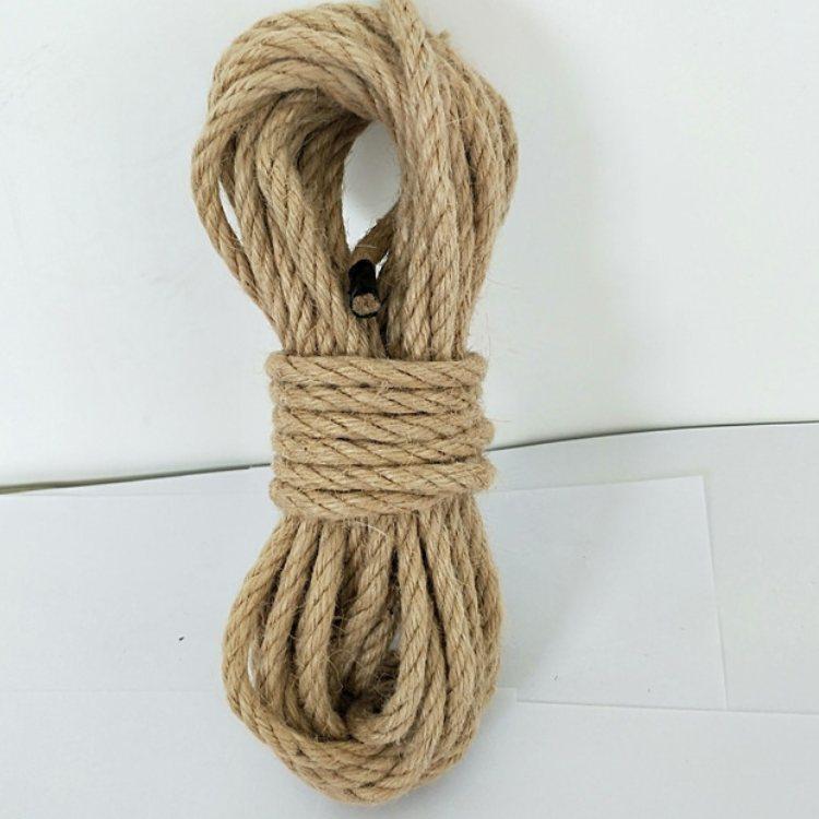 捆扎编织麻绳手工 瑞祥 粗麻绳批发 多股麻绳制作